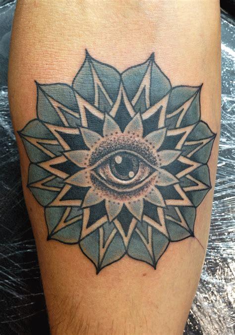 tattoo mandala eye mark lonsdale tattoo sydney bondi mandala geometric eye