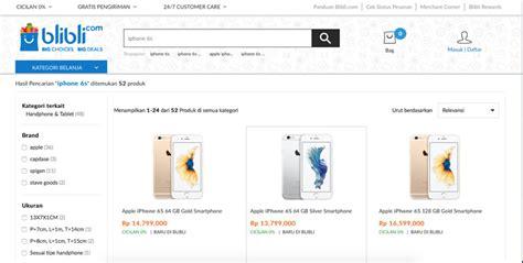 blibli about harga iphone 6s dan iphone 6s plus di toko online blibli