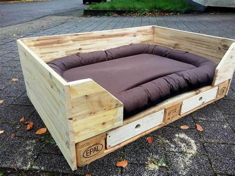 pallet dog bed diy pallet dog bed design with drawers 101 pallets