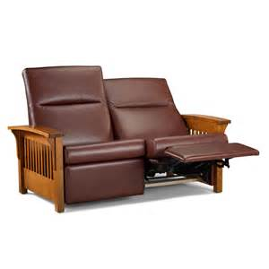 mission loveseat recliner chilton furniture mission loveseat recliner chilton
