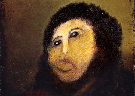 Jesus Painting Restoration Meme - epic fail mark o connell on tommy wiseau guy fieri and