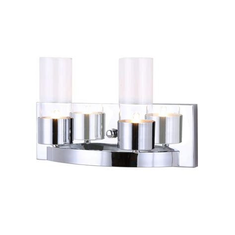Glass Vanity Light Designers Choice Collection Michaela 7 Light Chrome Vanity Light With Curved Glass Shade