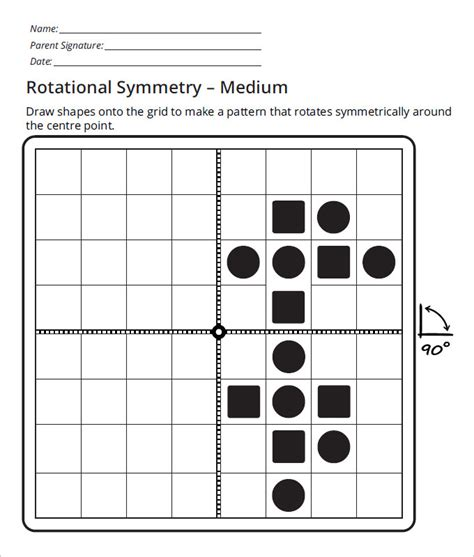 Rotational Symmetry Worksheets by Sle Rotational Symmetry Worksheet 17 Free Pdf