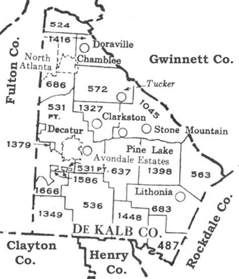 County Ga Civil Search Usgenweb Archives Militia District Maps