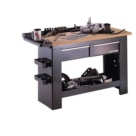 sears bench craftsman 65525 2 drawer workbench sears outlet