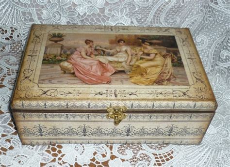 Decoupage On Wooden Boxes - 17 best images about decoupage wooden box on