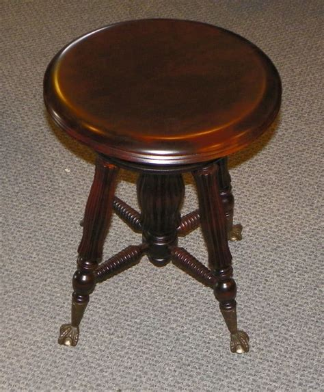 Organ Stool by Bargain S Antiques 187 Archive Antique Mahogany