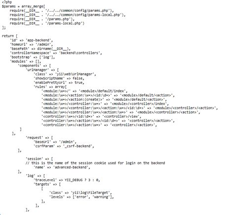 yii2 join tutorial parsing yii2 syntax error while loading the index