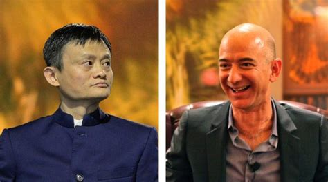 jack ma vs jeff bezos a tale of two very different alibaba beat amazon in china and is planning an indian