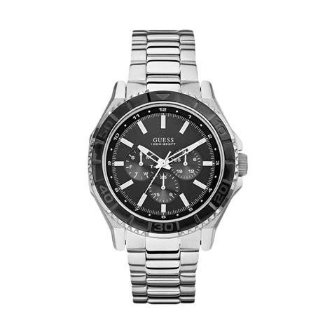 Jam Tangan Guess Diamonddate Silver jual guess jam tangan pria silver w0479g1 harga
