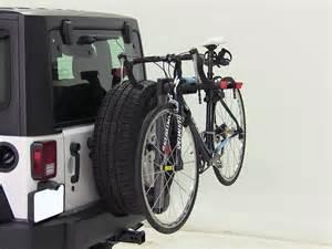 2012 jeep wrangler yakima sparetime 2 bike carrier spare