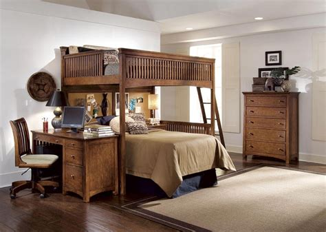 a desk loft bed with desk underneath size loft bed with