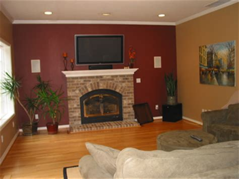 accent wall color combinations accent wall ideas and color combinations in michigan