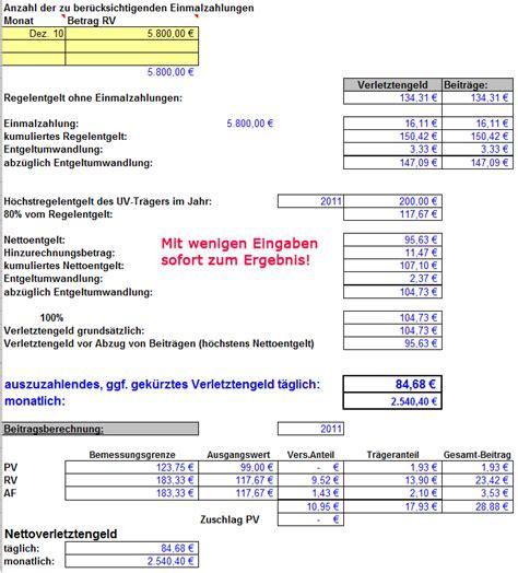 Kfz Versicherung Rechner österreich by Verletztengeldrechner Kfz Versicherung