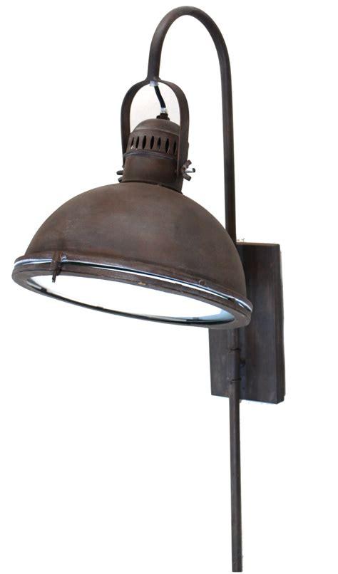 Aged Bronze Brown Painted Wall Bedside Light Fixture Dock Light Fixtures