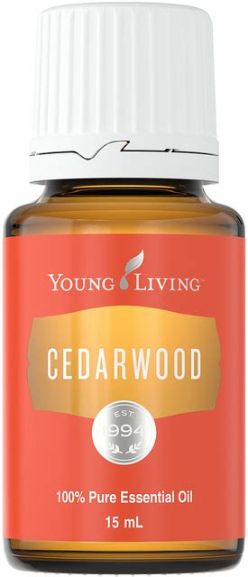 Youngliving Essential Cedarwood 15ml 6 essential oils your skin essential peace of mind