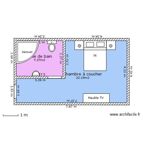 chambre d hotel plan 2 pi 232 ces 30 m2 dessin 233 par aymen0482