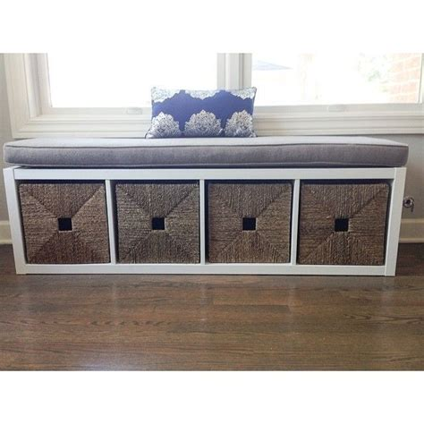 nursery storage bench kallax nursery bench google search playrooms