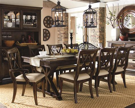 Legacy Classic Dining Room Set Legacy Dining Room Set Classic Furniture Sets Tables And 0 Brownstone 7 With Leg