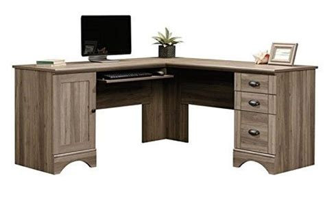 salt oak corner desk elegant sauder corner computer desk for home office