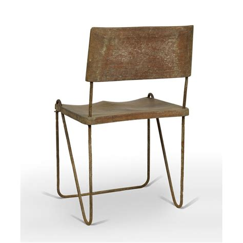 chaise jeanneret chaise en teck et fer chandigarh design