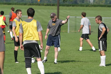 soccer couch men s soccer reports for pre season training posted on