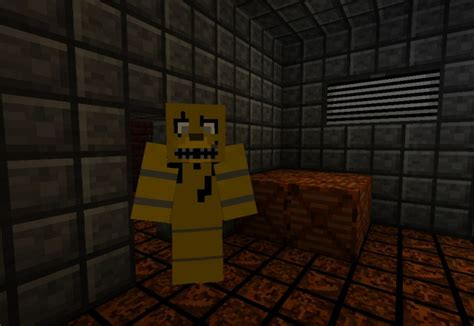 minecraft freddys nights at five five nights at freddy s 3 resource pack minecraft texture pack