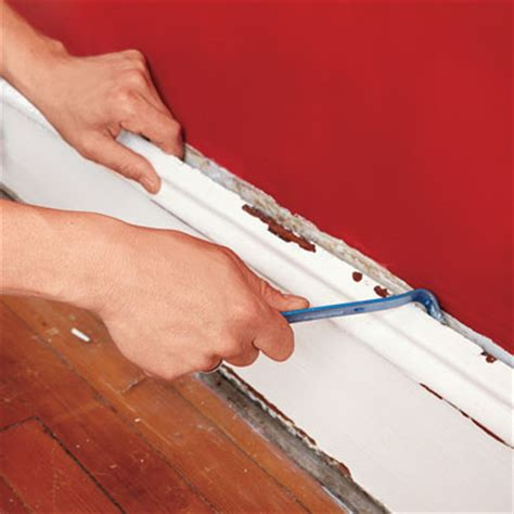 Removing Wainscoting by Remove The Base Cap How To Install Wainscoting This