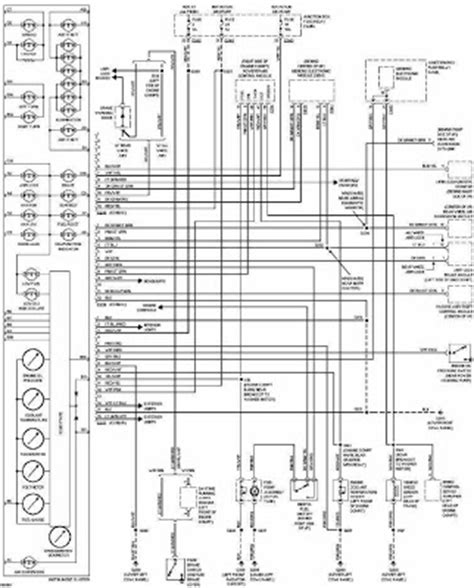 transmission control 1997 ford escort instrument cluster ford f 150 1997 instrument cluster wiring diagram all about wiring diagrams
