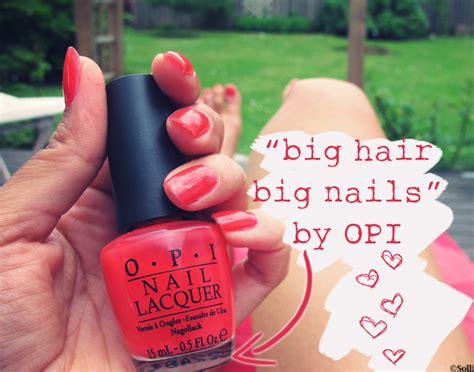 Big Hair Big Nails Nlt21 Opi big hair big nails opi about fashion