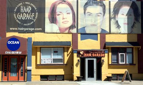 hair garage gallery hair salon edmonton alberta hair