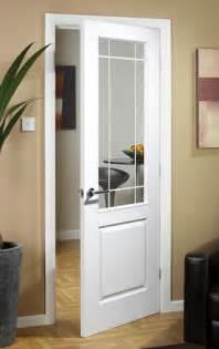 manhattten half light textured white primed door