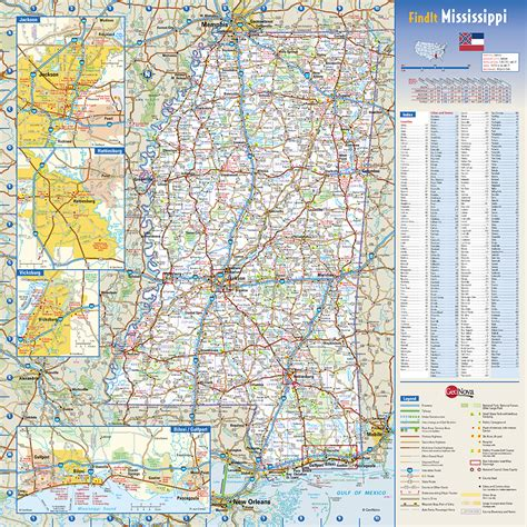 mississippi state map mississippi state wall map by globe turner