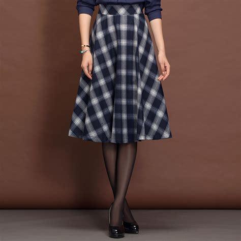 popular pleated plaid skirt buy cheap pleated