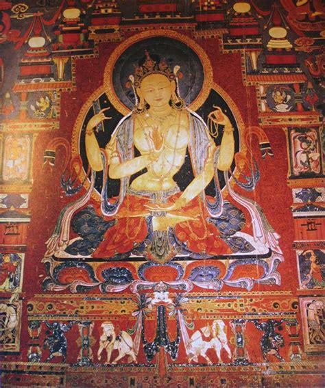 Murals Wall Art tibet guge 03 tholing 10 white temple 15 prajnaparamita
