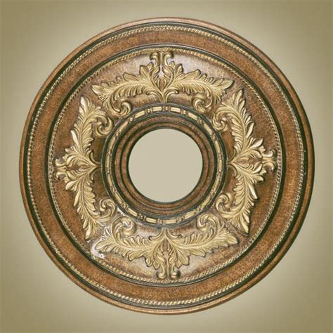 light venetian patina ceiling medallion ebay