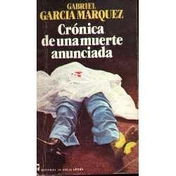 libro crnica de una muerte libros para bto cr 243 nica de una muerte anunciada