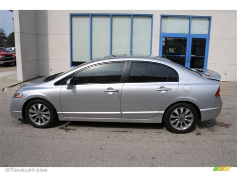 alabaster silver metallic 2010 honda civic ex sedan