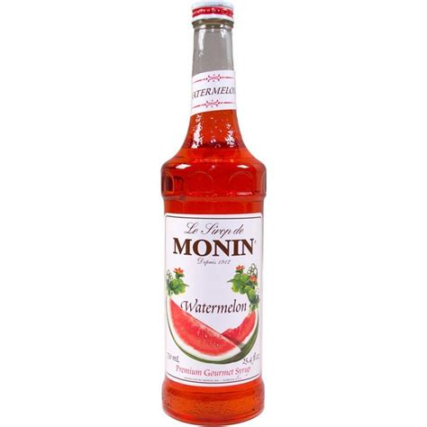 Monin Watermelon 700 Ml Cafe Coffee Original Syrup monin watermelon syrup 700ml