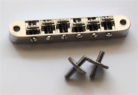 Roller Bridge Chrome chrome roller bridge tune o matic bridge with post
