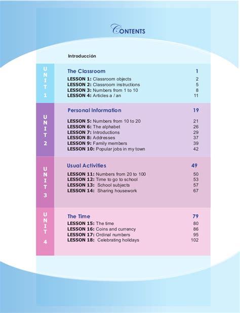 libro 40 lessons to get libro de ingles 7mo grado