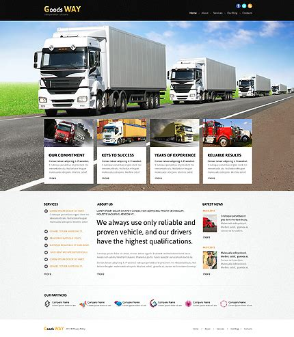 bootstrap themes transport top 30 responsive joomla templates