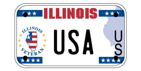 State Of Illinois Vanity Plates Military License Plates