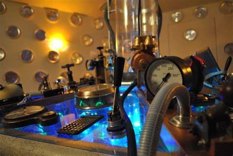 tardis bedroom home made tardis control room geektyrant