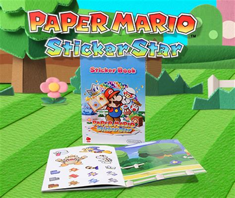 mario official sticker book nintendo books get stuck in and claim your free limited edition paper