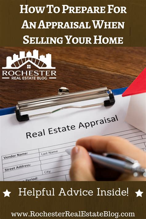 how to prepare for an appraisal when selling your home