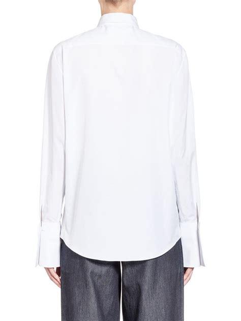 Blouse Roger 2 blouse in poplin roger mello print from the marni