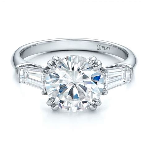 custom three engagement ring 100161
