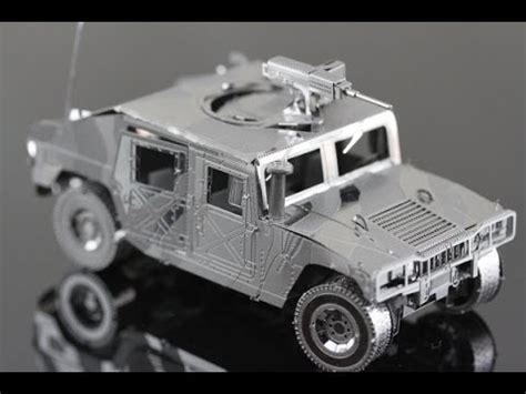 3d Metal Humvee humvee metal model kit