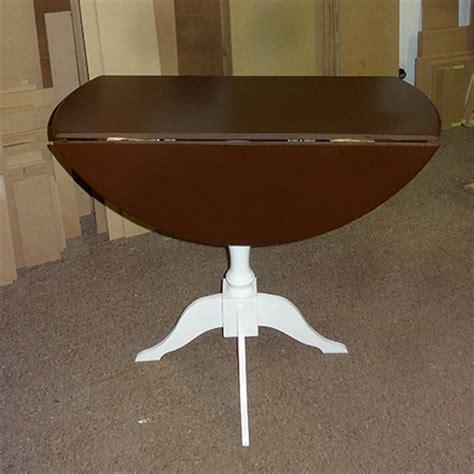 Diy Drop Leaf Table Home Dzine Home Diy Make A Diy Circular Drop Leaf Table